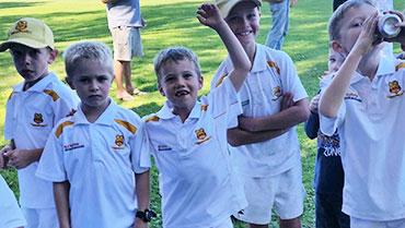 Kids soft ball grade cricket